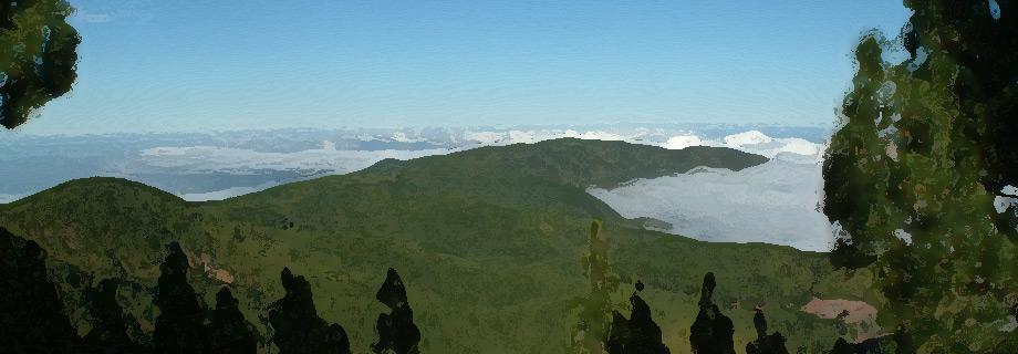 Wysoko w gorach na Teneryfie