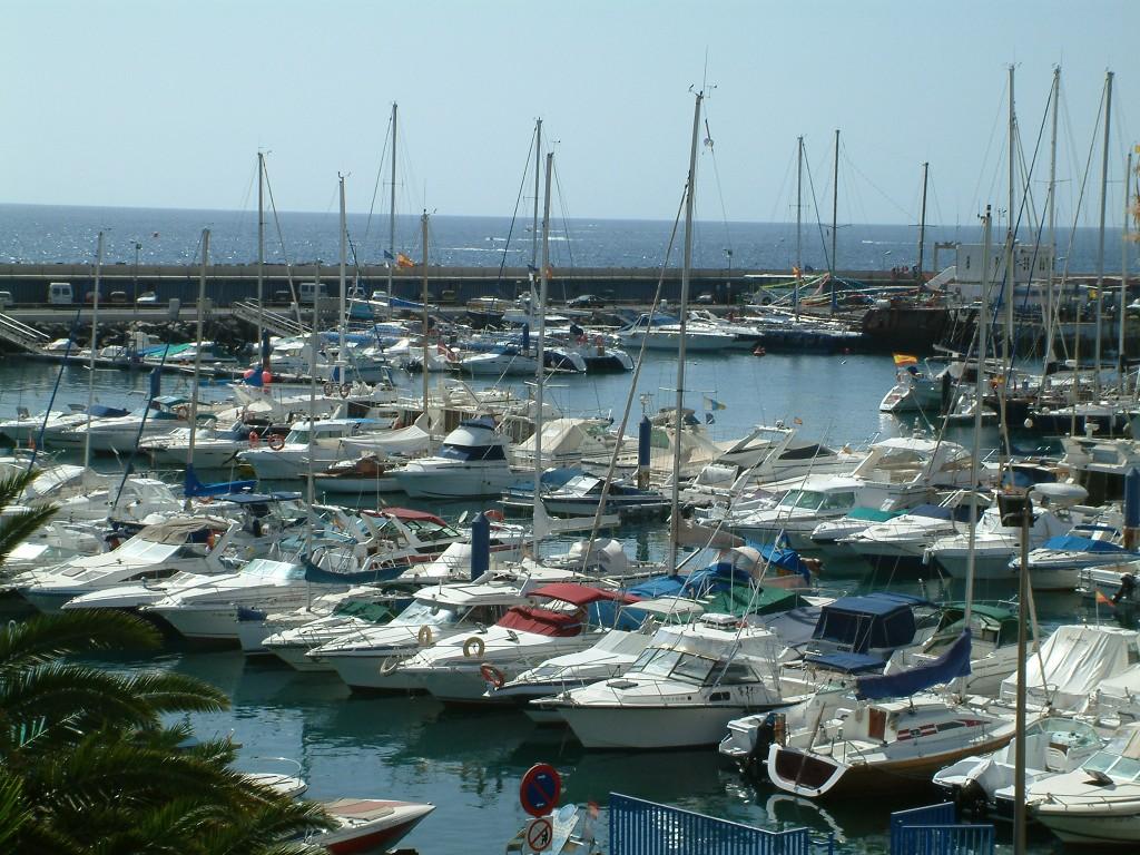 Port Puerto Colon Teneryfa