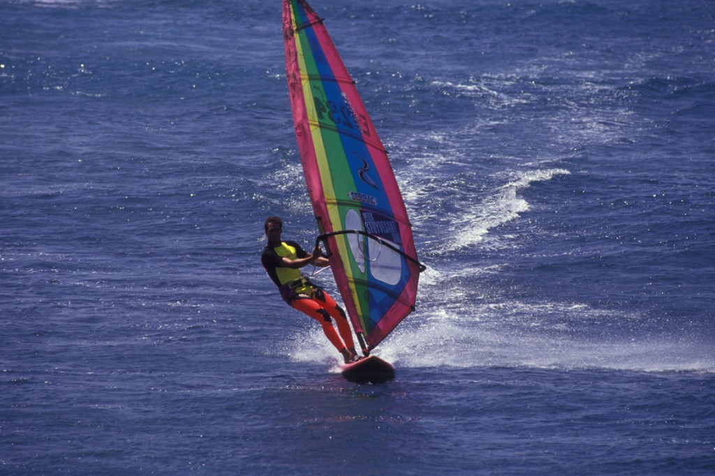 Windsurfing w El Medano na Teneryfie