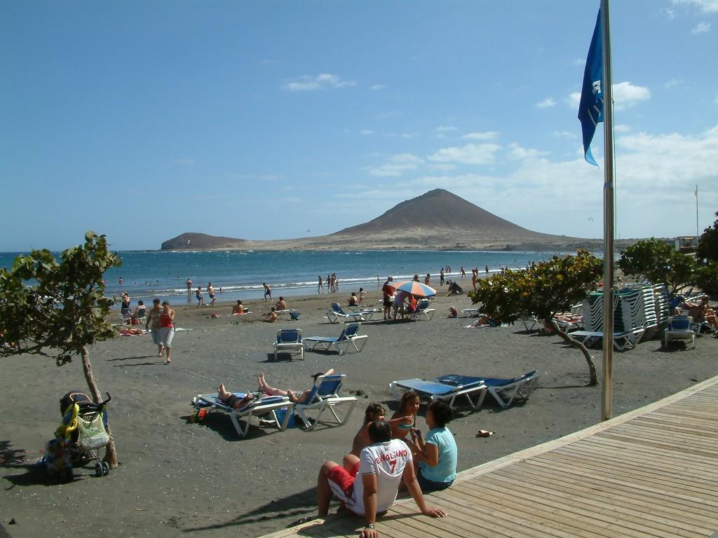 Plaża El Medano na Teneryfie