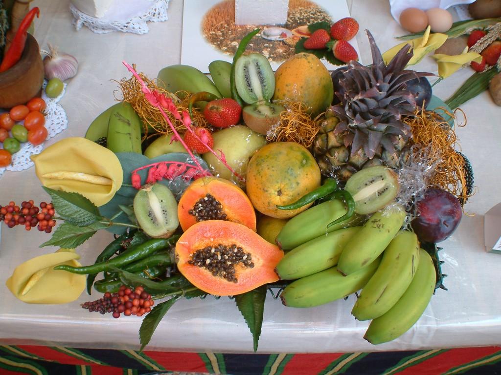 Owoce na Teneryfie