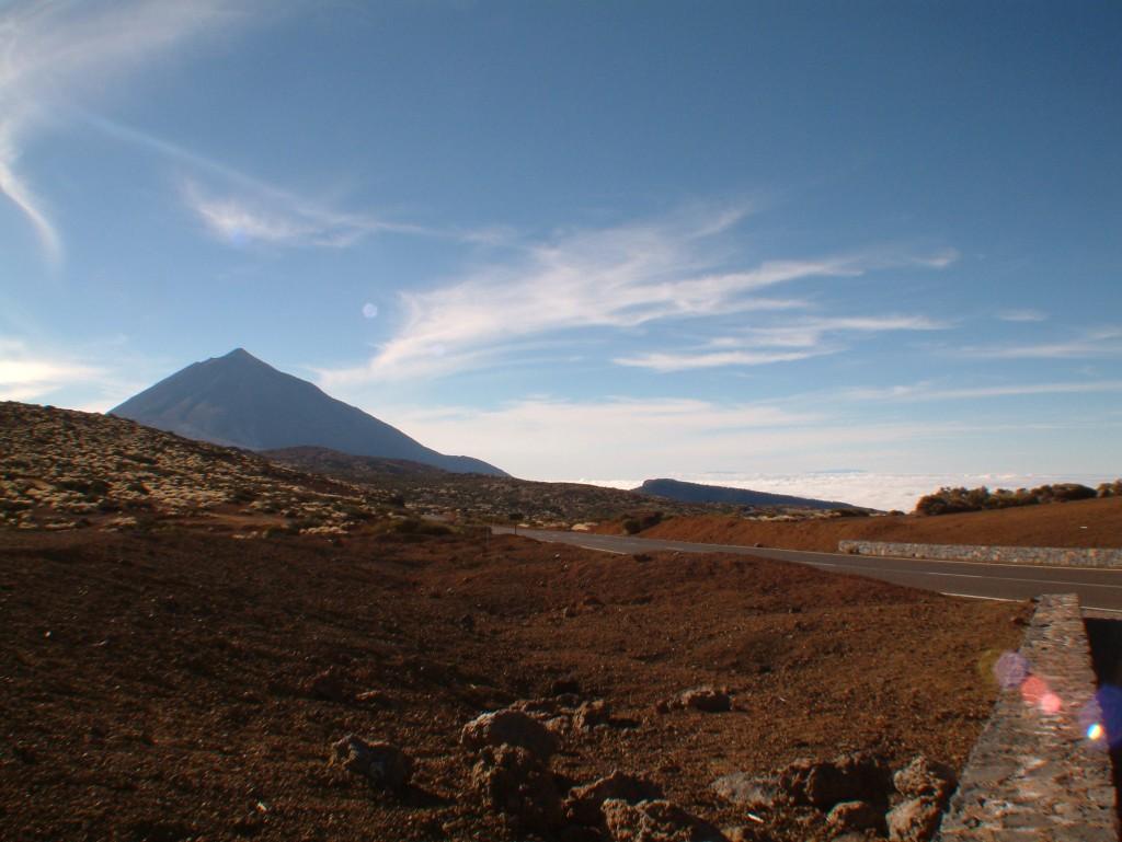 Droga na Teide