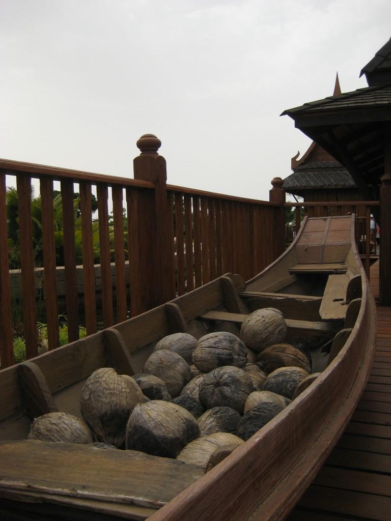 Ozdoby z Tajlandii w Siam Park na Teneryfie