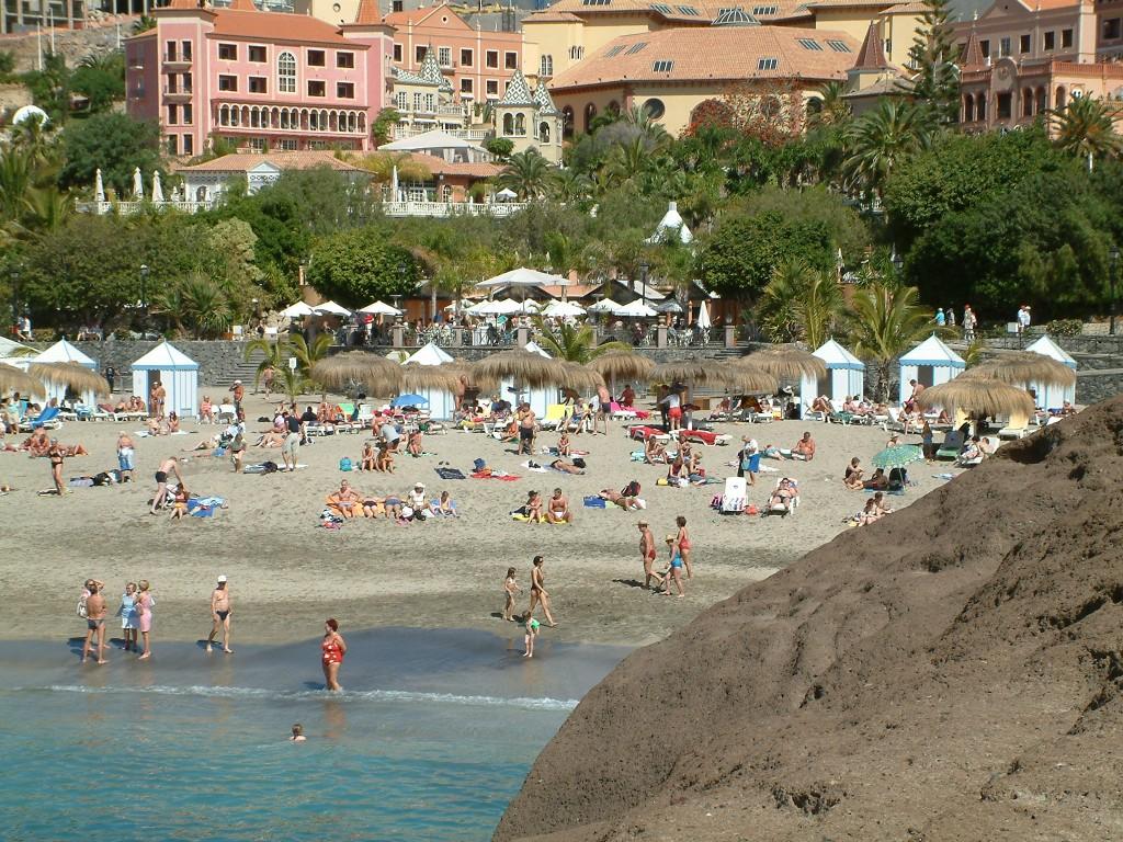 Plaża del Duque na Teneryfie