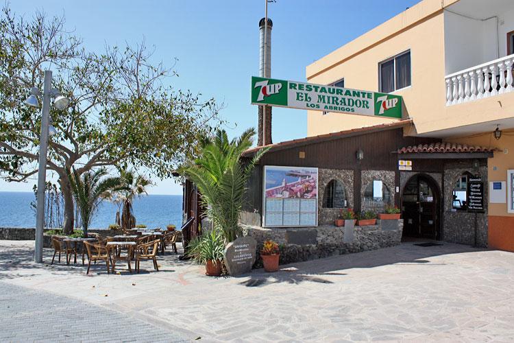 Restauracja El Mirador w Los Abrigos