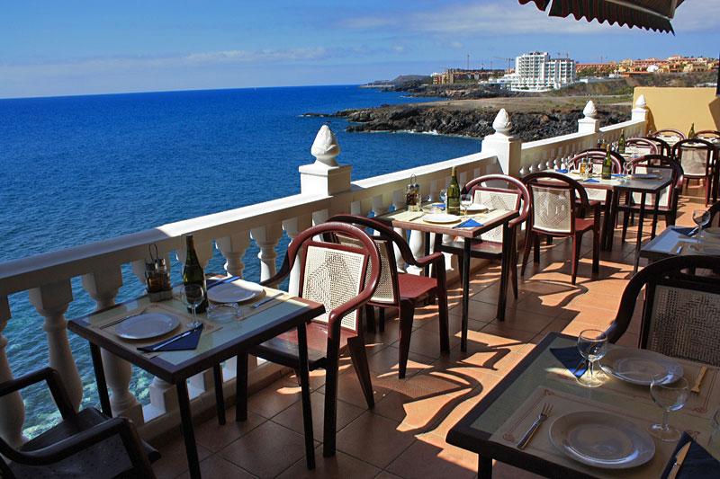 Taras w restauracji El Mirador