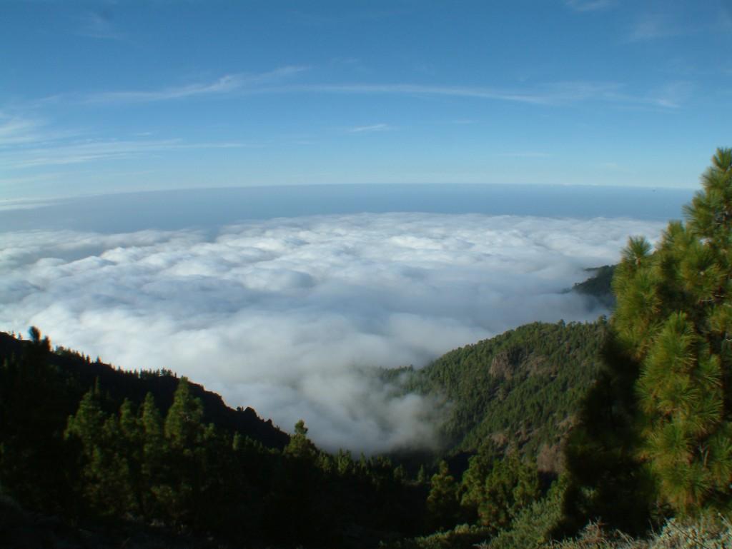 Teneryfa w chmurach