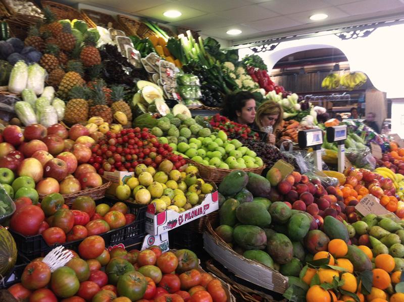 Owoce i warzywa na Teneryfie