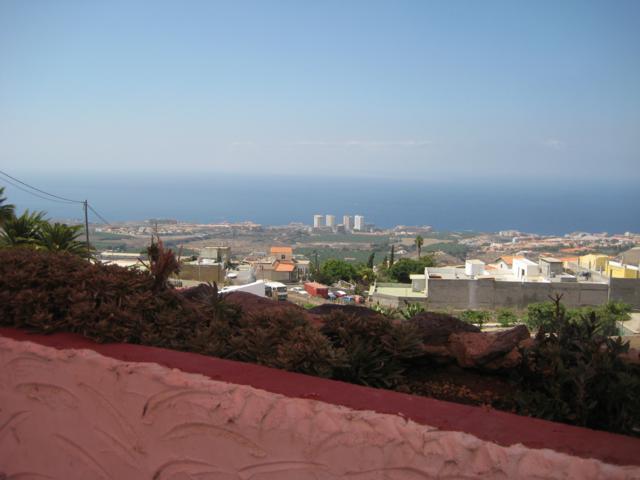 Widok z baru El Volante ne Teneryfie